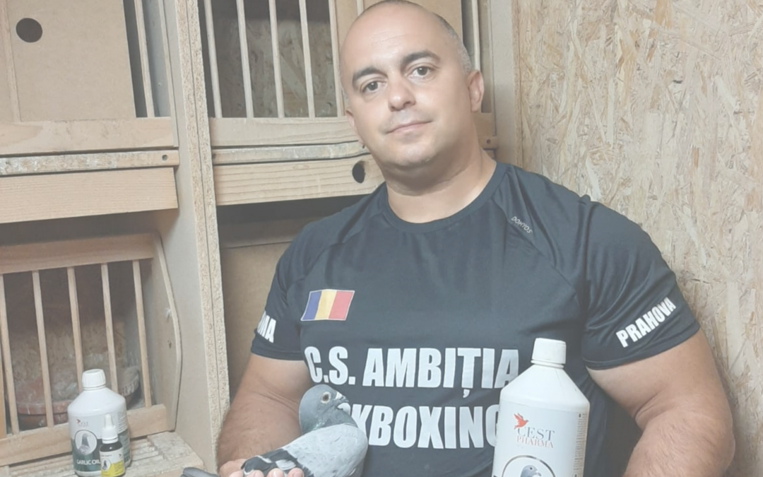 Mădălin Tănase has chosen CEST Pharma for the 2020 season